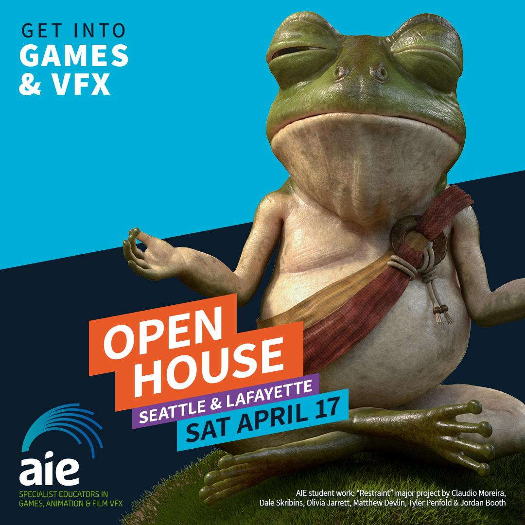 Open House Square Image April 2021 | AIE
