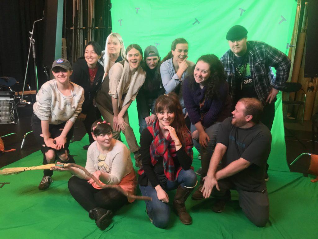 AIE Behind the Scenes: VFX Film Shoot - AIE