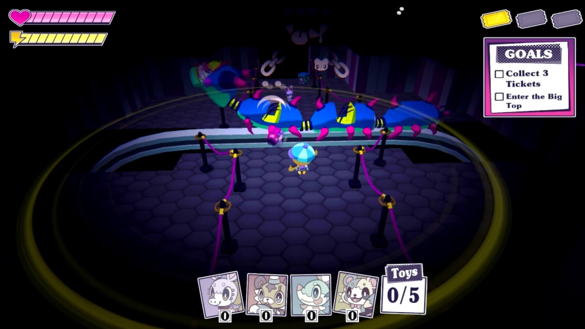 Lost circus by Team Quail